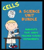 Cells: A Science Unit Bundle (Printables, Task Cards, Expe