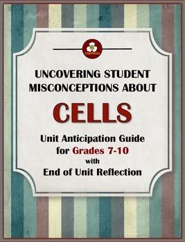 Cell Unit Pre-Assessment (Anticipation Guide)
