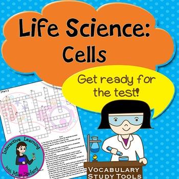 Cells Vocabulary Test Prep