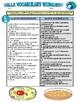 Cells Vocabulary (Webquest Crossword Puzzle)