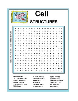 The Cell Word Search! (Puzzle 20121207935192)