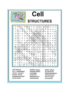 Cells Word Search or Wordsearch