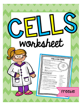 Cells Worksheet
