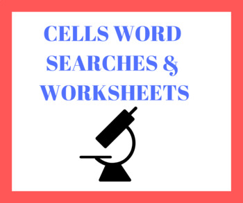 Cells Worksheets & Word Searches (11 pages)