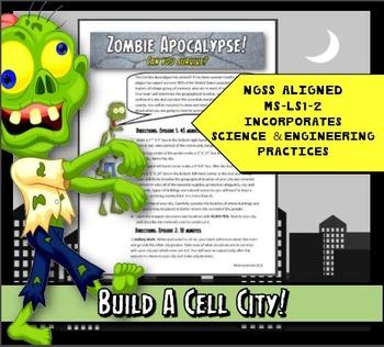 Cells: Zombie Apocalypse! Plant Cell City Creation