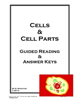 Cells and Cell Parts Guided Reading
