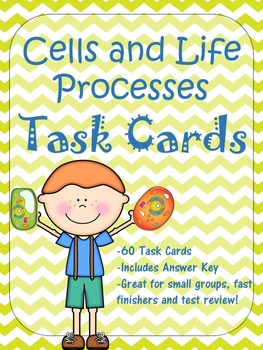 Cells and Life Processes Task Cards