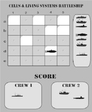 Cells and Living Systems 5th Grade Science Battleship Smartboard Review Game