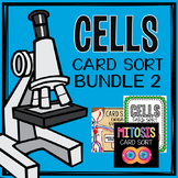 Cells and Organ Systems Card Sort Bundle