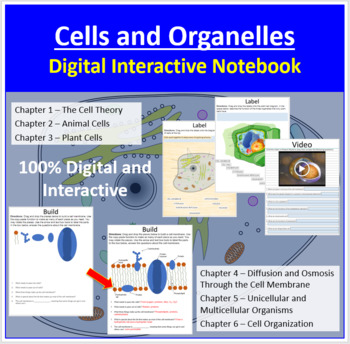 Cells and Organelles - Digital Interactive Notebook