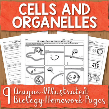 Cells and Organelles Unit Homework Pages
