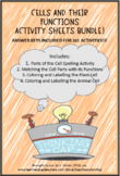 Cells and Their Functions Activity Bundle!!!