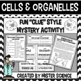 Cells and organelles puzzle activity 6 7 8 9th jr high Texas TEKS 6.12B, 7.12D