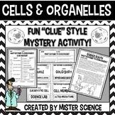 Cells and organelles puzzle activity 6 7 8 9th jr high Texas TEKS 6.12B, 7.12D