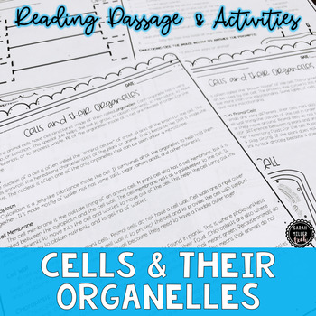 Cells and their Organelles Reading Activity (S7L2, S7L2a)