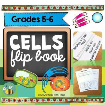 Cells flip book
