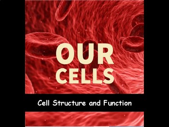 Cells for Middle School Video Lesson 3:  Cell Parts and Functions