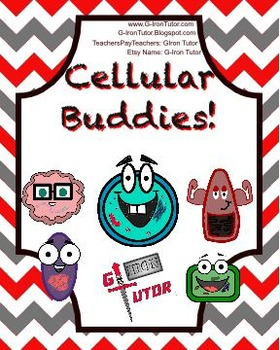 Cellular Buddies Clip Art