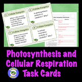 Photosynthesis & Cellular Respiration Task Cards