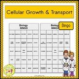 Cellular Growth and Transport BINGO