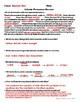 Cellular Processes Review Worksheet