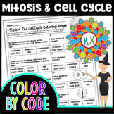 Mitosis and The Cell Cycle Color By Number | Science Color