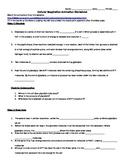 Cellular Respiration Animation Worksheet