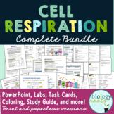 Cellular Respiration Unit bundle