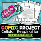 Cellular Respiration Project - Comic Strip
