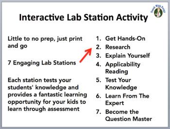 Cellular Respiration - 7 Lab Station Activities