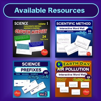 Cellular Respiration: Vocabulary Term Activities with Def. Study Guide NO PREP
