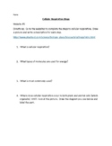 Cellular Respiration Webquest