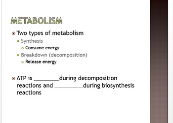 Cellular Respiration and Heterotrophy HS Honors Biology Complete Unit