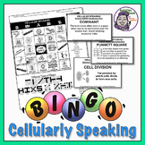 Cellular Speaking Bingo - MS Science Topic Cells