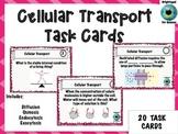 Cellular Transport Task Cards