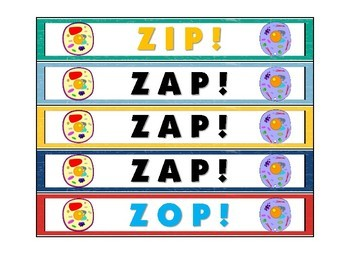 Cellular ZAP! Plant and Animal Cell Organelles and their Functions