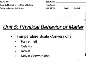 Celsius to Kelvin Temperature Conversions