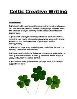 Celtic Creative Writing