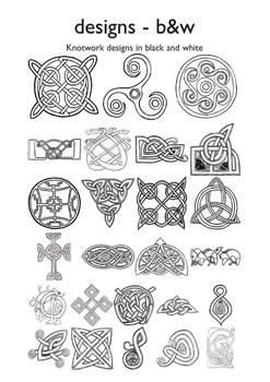 Celtic Designs Black And White By Tefl Resources Tpt