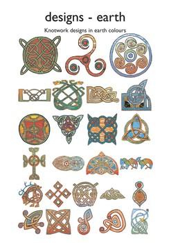 Celtic Designs in Earth Colors