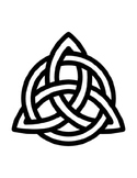 Celtic Knot Template Irish Trefoil Template St. Patrick's Day Coloring Page Kind