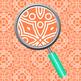 Celtic Lace Detail Rainbow Backgrounds / Digital Papers Clip Art Set