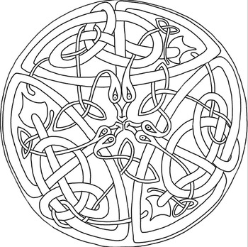 Celtic Patterns: Volume I