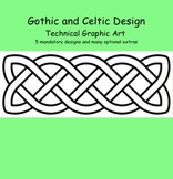 Celtic and Gothic Design - Technical Drawing and Sketching