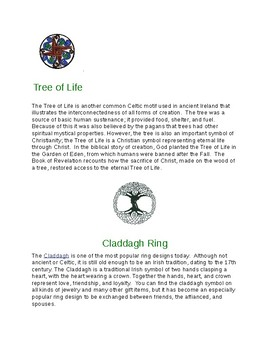 Celtic knot meanings and grid