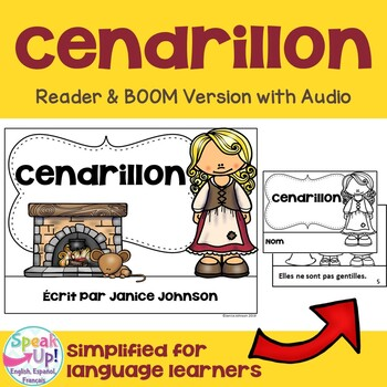Cendrillon French Cinderella Reader ~ Simplified for Language Learners