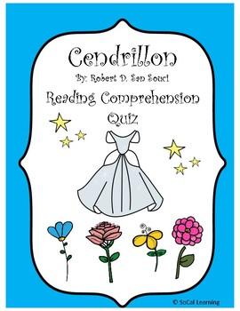 Cendrillon Reading Comprehension Quiz