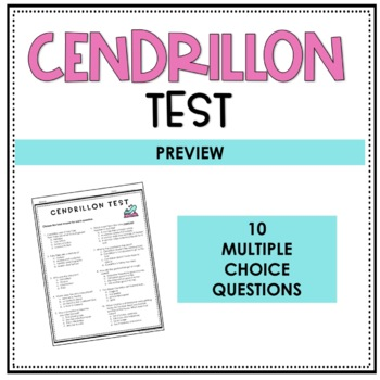 Cendrillon Test - A Story of Cinderella
