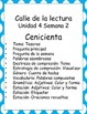 Cenicienta -Calle de la lectura- Unit 4 Week 2