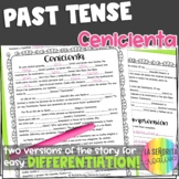 Preterite Imperfect Story Worksheet (Cenicienta/Cinderella)